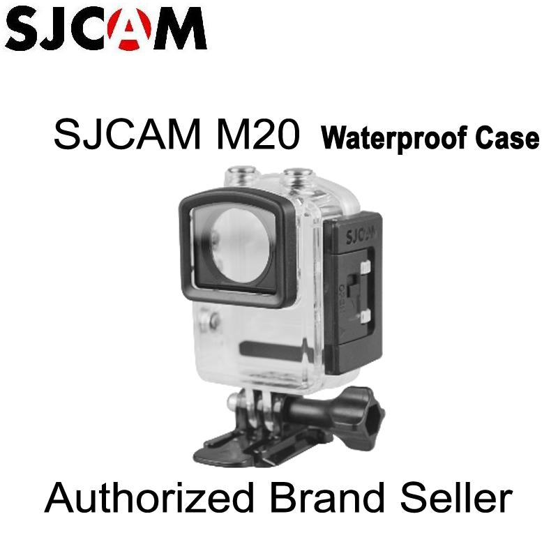Sports Camcorder Cases Original SJCAM Accessories Waterproof Case Underwater 30M Dive Housing Case Camcorder for SJCAM M20 Camera
