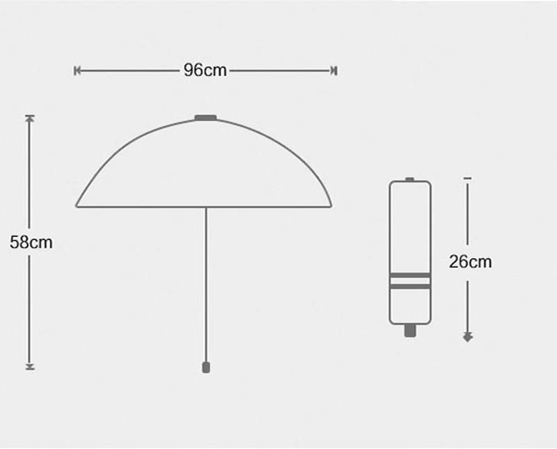 Fashion White Auto Open Auto Close Umbrella Rain Women Men 3 Folding Automatic Umbrella Black Coating Sun Umbrella19
