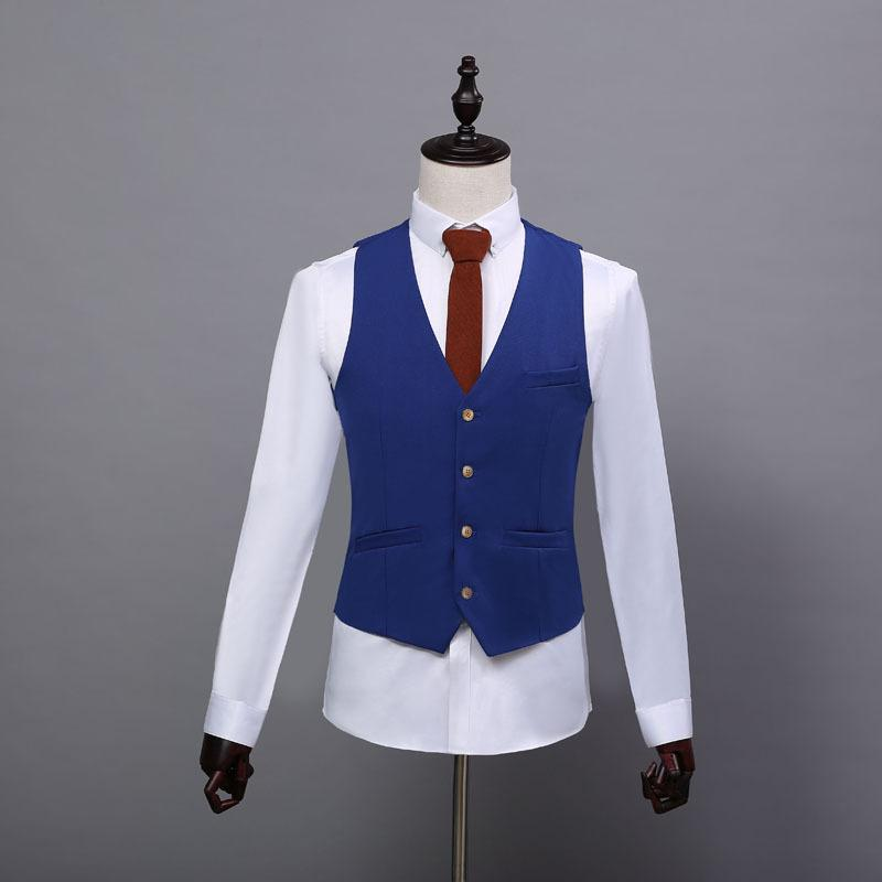 Automne nouvelle mode veste décontractée pour hommes de l'Angleterre veste version coréenne du costume de self-cultivation mâle