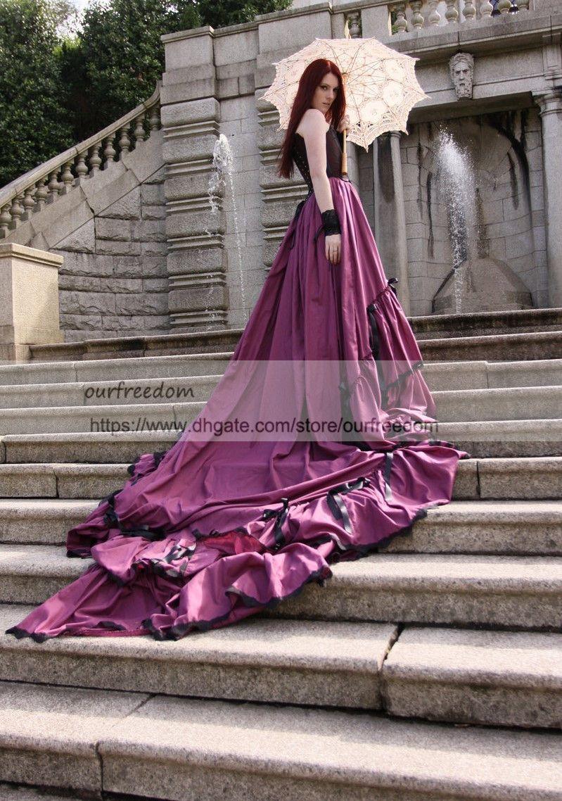 Asombroso Vestidos De Novia Gótico En Venta Ideas - Vestido de Novia ...