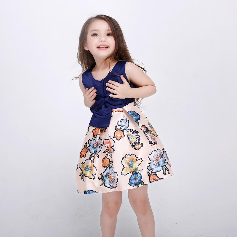 3-12 Years Old Summer Girls Dress Gown For Teenagers Baby Girl Kids Princess Dress Children Party Frock Gowns For Teenagers