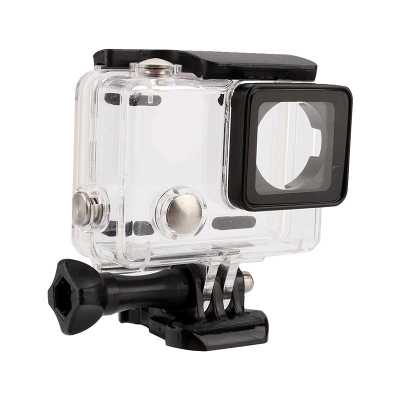 Freeshipping 50yd Transparent Shockproof Diving Shell Box Underwater Waterproof Camera Housing Case Cover For Gopro Hero 4/3+/3