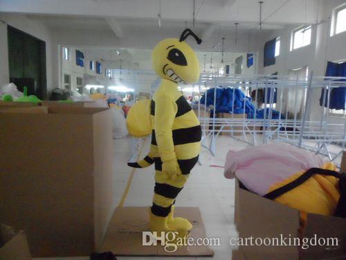 2018 venta caliente hombre de la hormiga del vestido de lujo de la historieta del animal adulto del traje de la mascota envío gratis