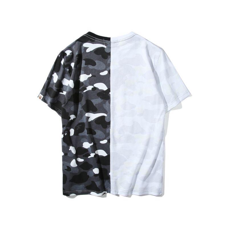 Newest Lover Black White Shark Camo Stitching T Shirt Men Women Crew Neck  Cotton Cotton Printed Short Sleeved T Shirts Funny Slogan T Shirts Cool