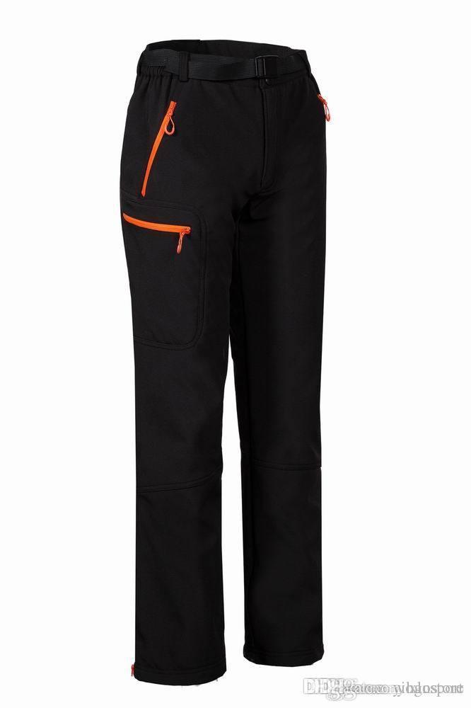 Il trasporto libero 2018 modelli di esplosione pantaloni da donna all'aperto pantaloni da campeggio sport casuali pantaloni a guscio morbido escursionismo pantaloni