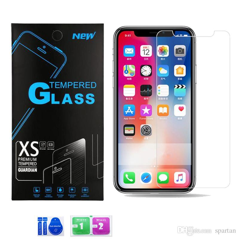 For Samsung A01 A21 A11 LG Aristo 5 Moto E7 Moto G Stylus Tempered Glass Clear Screen Protector 0.3mm Anti-Scratch