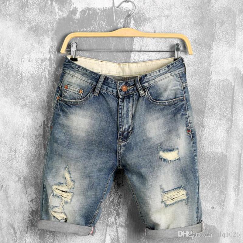 Letnie szorty dżinsowe męskie dżinsy dorywczo mężczyźni Jean Shorts Bermuda Skate Board Harem Męskie Jogger Darmowa wysyłka
