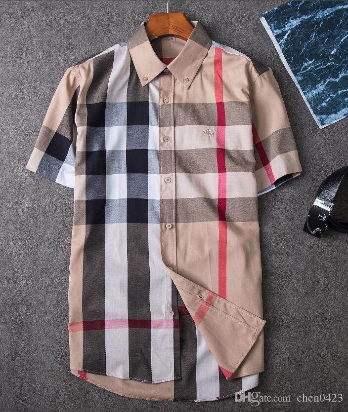 En gros, les hommes de l'automne et de l'hiver portent des chemises à manches longues polo décontractées pour hommes POLO shirt à la mode des vêtements de la marque sociale Oxford shirt.