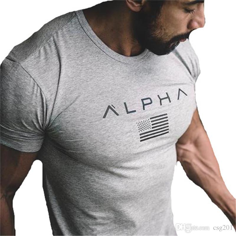 magasin en ligne f4db7 d9833 Gym T Shirt Mens Fitness T Shirt Homme Sports T Shirt Men Compression Tees  Crossfit T Shirts Summer Top Brand Clothing Online Tees Tee Shirts Design  ...