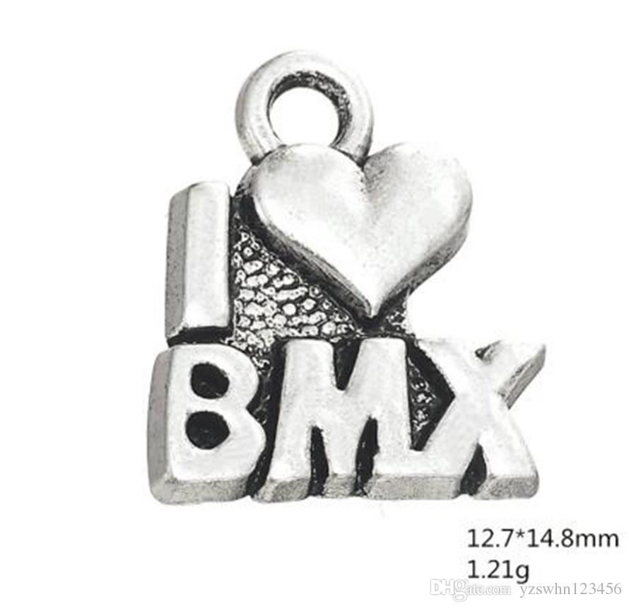 Me encanta el encanto de la palabra deportiva BMX.