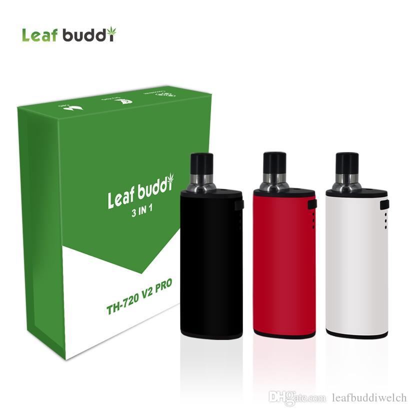 Newest Leaf Buddi Th 720 V2 Pro Dry Herb Vaporizer Vape Pen 3 In 1 Multi  Option In Oil/ Wax 500mAh Battery Vapor Mods Kit Best E Cigarette Kit Best  E