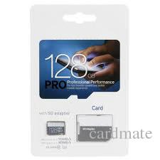 2019 venda quente PRO 256 GB 128 GB 64 GB 32 GB 16 GB TF Cartão de Memória com Adaptador SD Pacote de Varejo Da Bolha 80 MB / s de Alta Velocidade C10 Brand New