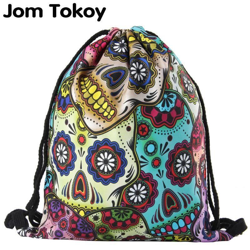 İpli baskı sırt çantası kadın moda omuz çantası rahat okul çantaları mochila erkek sırt çantaları Renkli grafiti unisex