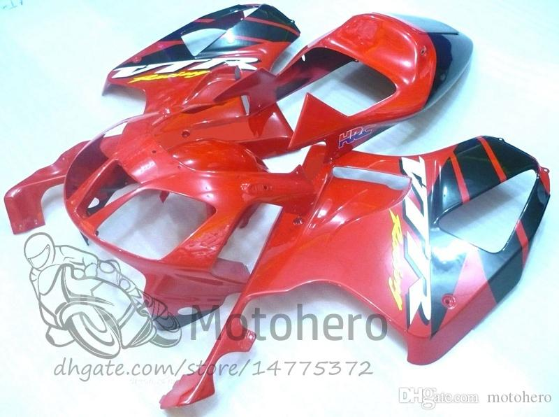 3gifts Fairings for HONDA VTR1000 RC51 SP1 SP2 00 01 02 03 04 05 06 Fairings VTR1000RC51 SP1/2 Pre_drilled Fairing kits RED BLACK freeship
