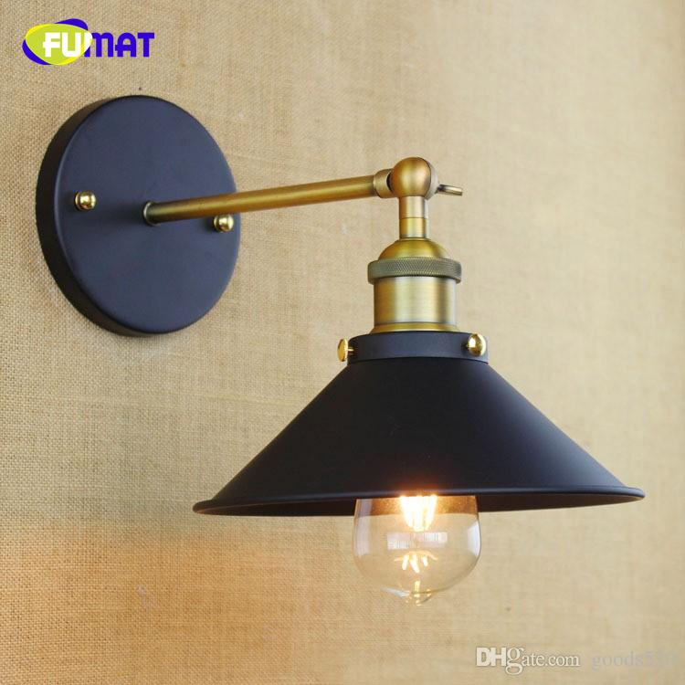 FUMAT American Countryside Industrial Vintage Wall Lamp Loft Style Cafe /Bar Decoration Light Dining Room Lamp