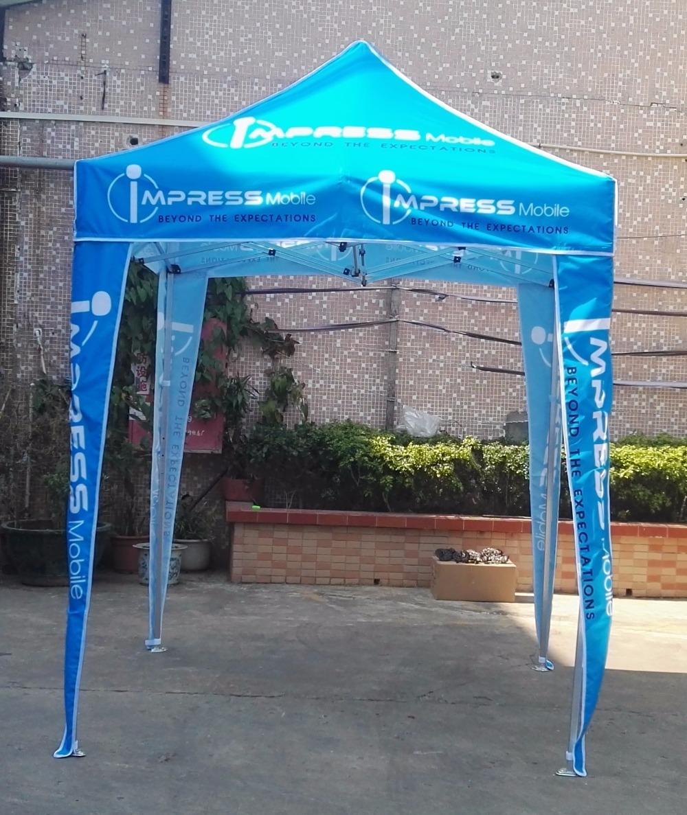 2m * 2m tenda pieghevole, tenda quattro stagioni, pubblicità evento con loghi logo, usato per feste, spiaggia, eventi nave libera