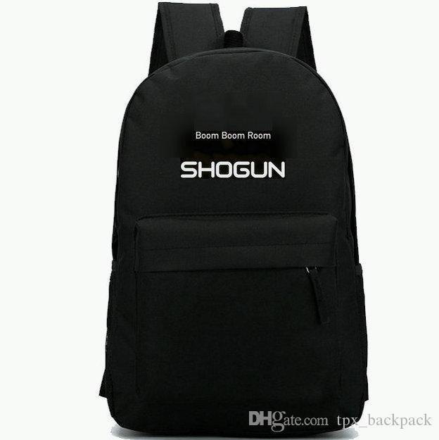 Shogun backpack Boom design day pack الأعلى حقيبة مدرسية DJ بارد packsack الترفيه الظهر الرياضة المدرسية daypack في الهواء الطلق