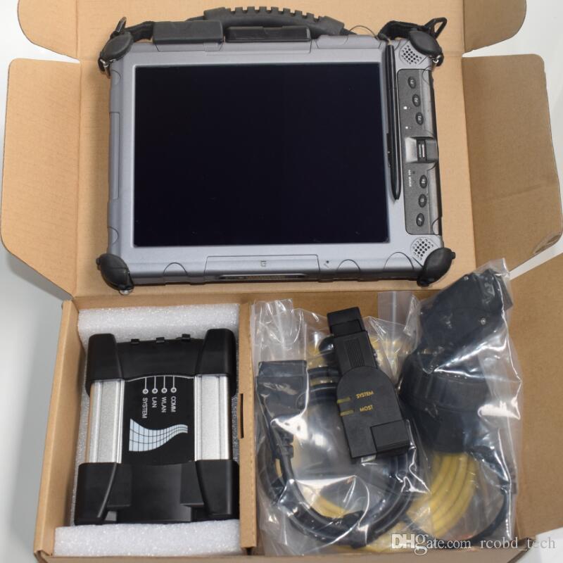 Для BMW ICOM NEXT с планшетом IX104 Xplore i7, 4g с ssd super ready use для диагностического инструмента bmw programmer