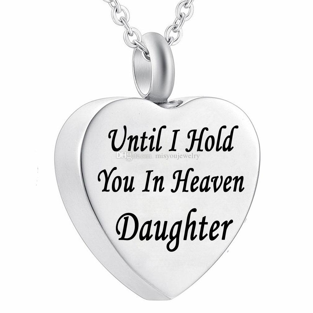 US NEW Dad Forever My Heart Cremation Jewelry Keepsake Memorial Urn Necklace GW