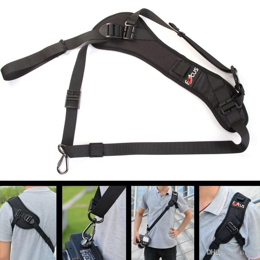 New Fashion Carry Speed Belt soft Shoulder Foucs F1 Quick Rapid Camera Single Shoulder Sling Black Belt Strap for DSLR Camera