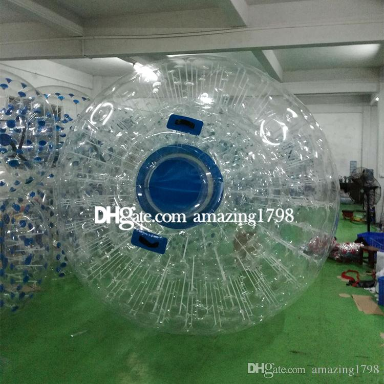 Free shipping Free One Pump Dia 3M Water Walkers Zorb Balls Water Walking Ball Bubble Zorb Inflatable Aqua Zorb Ball