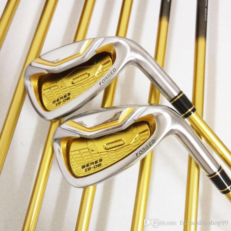 Nuovi ferri da golf HONMA S-06 4 ferri da stiro club club 4-11.Aw, Sw mazze da golf Graphite golf shaft R o S flex Spedizione gratuita