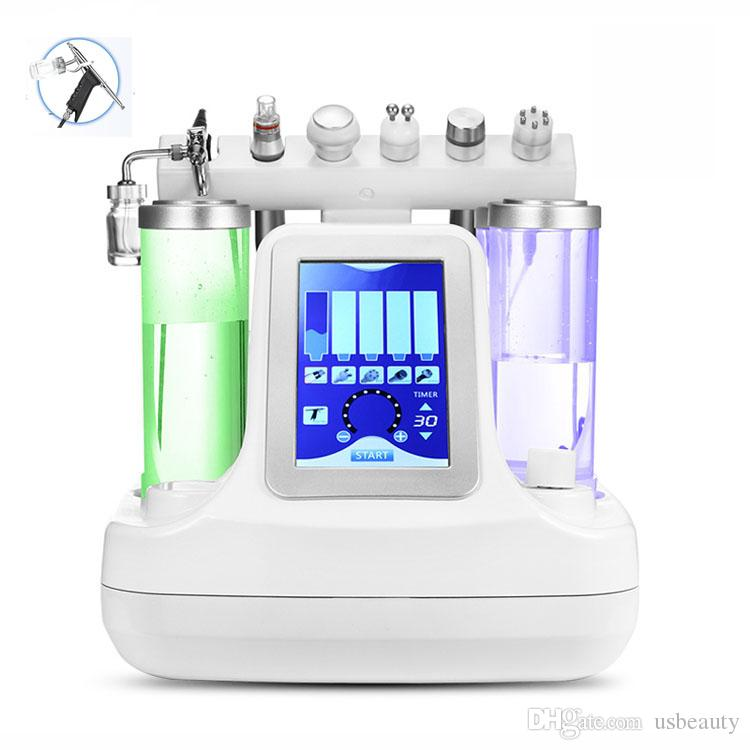 جديد O2 الأكسجين جت قشر الجلد الجلد تجديد حب الشباب إزالة الجلد آلة العناية بالبشرة للاستخدام المنزلي