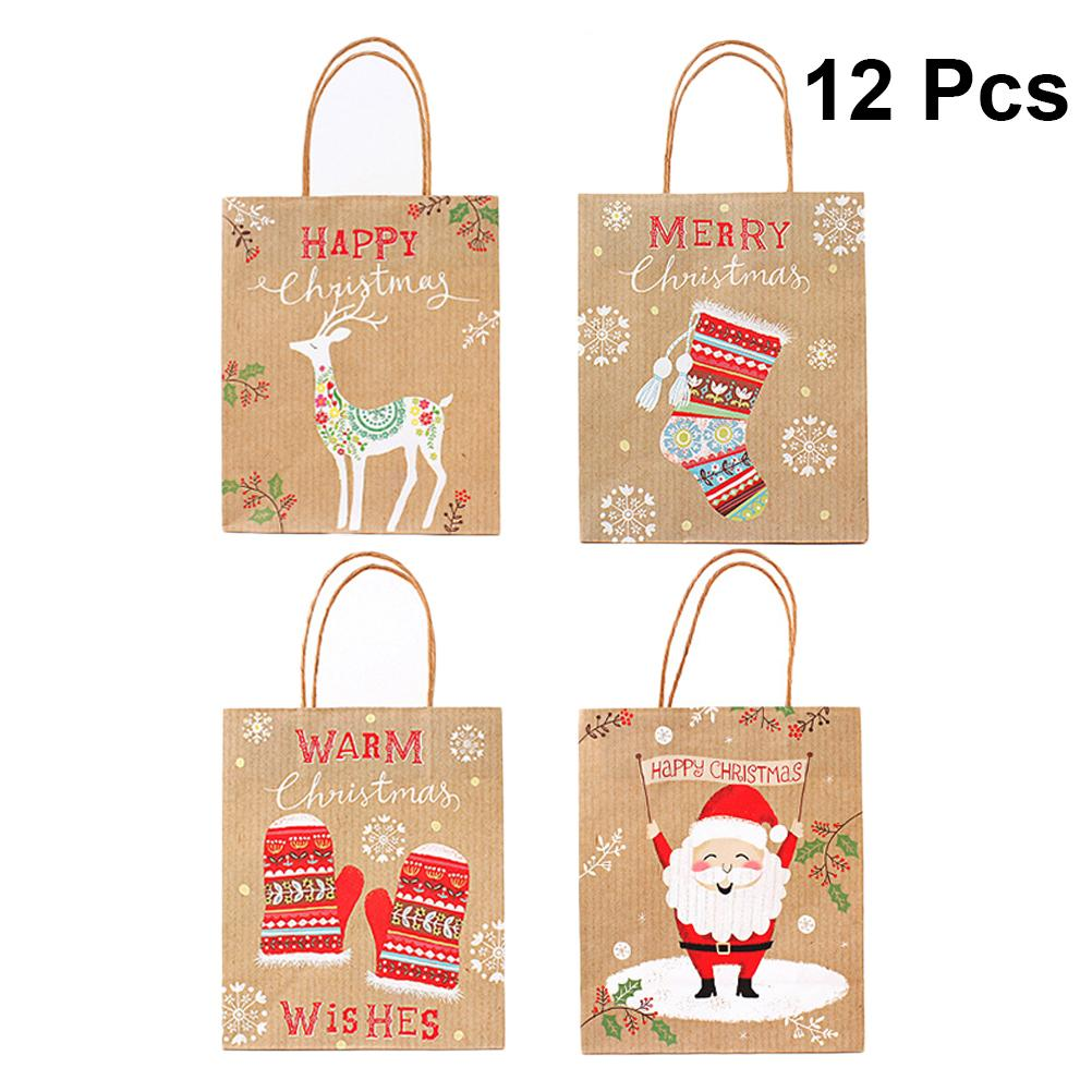 Decoration Happy New Year Gift Paper Sticker Biscuit Package Seal Label