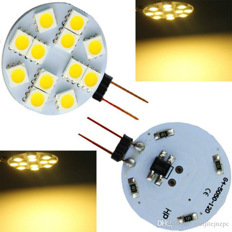 12V G4 LED lamp bead insertion bubble 3W small bulb white light low voltage high bright energy saving durable LED lights