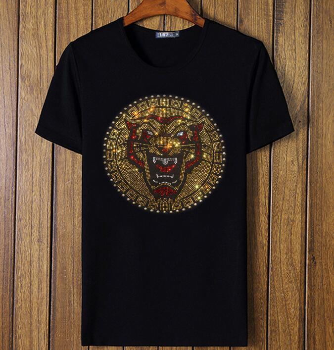 Tshirt Uomo manica corta cotone vendita calda nuovo design uomo top tees