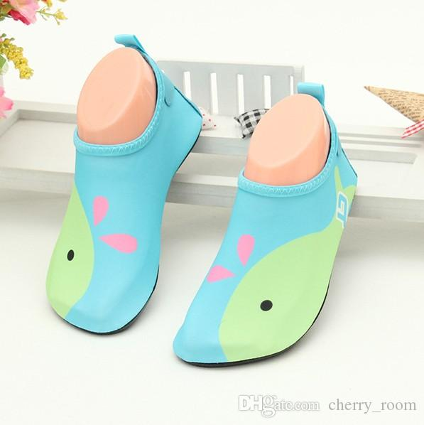 Toddler Kids Water Shoes Summer Children Quick Drying Swim Beach Shoes Aqua Socks Girls Boys Pool Surfing Dance Shoes C3763