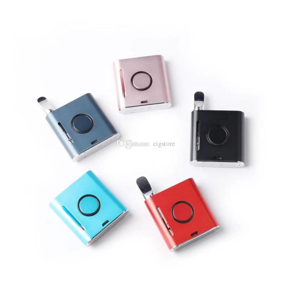 Magnétique Ecig Batterie Vapmod Préchauffer Boîte De Stylo De Vape Mod Kits Avec Android Charge câble 900mAh Tension Réglable Pour 510 Cartouche G2 CE3