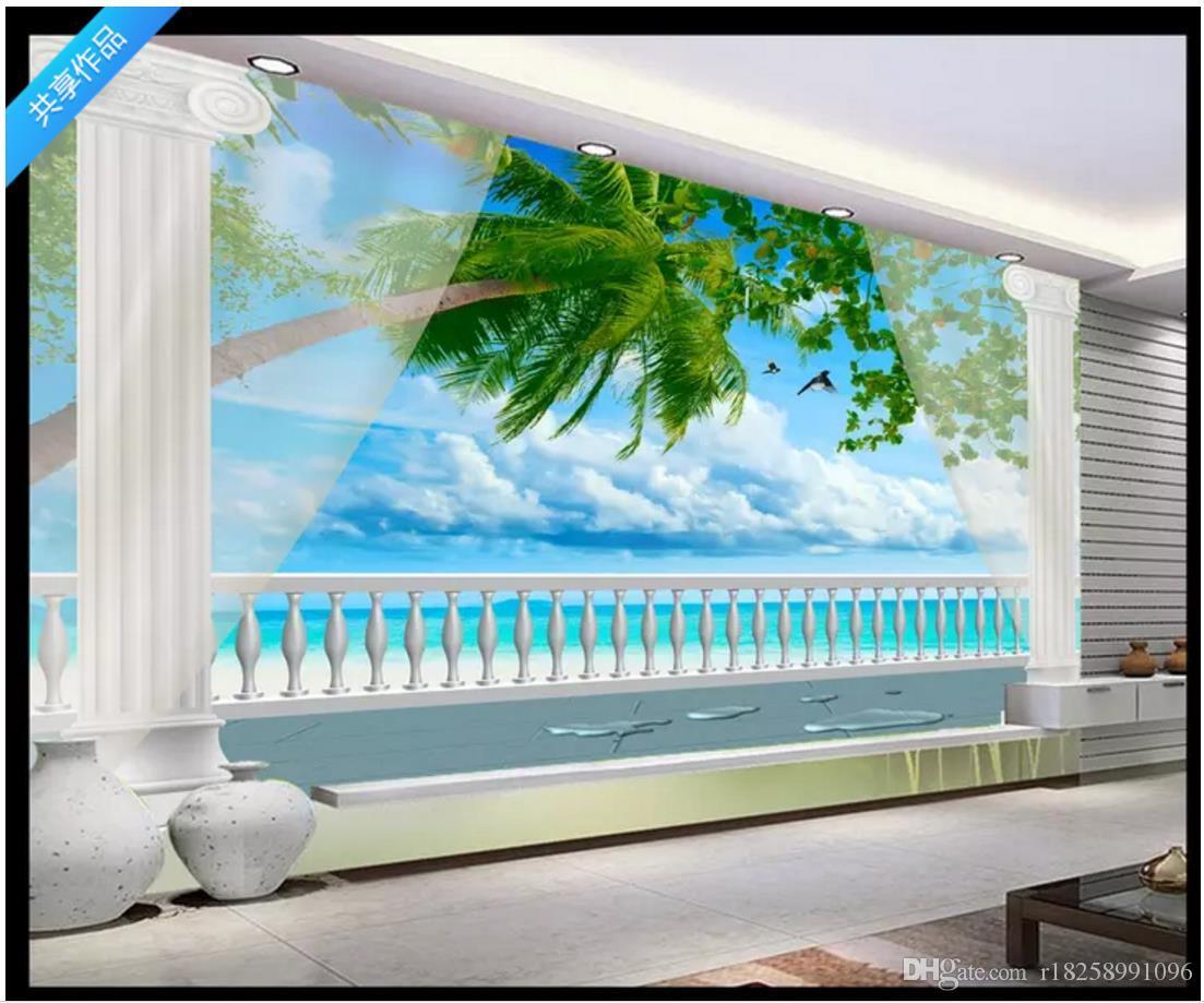 Custom 3d photo wall murals wallpaper 3D fashion development space living room wall Home Interior Decor murals wallpapers for walls 3d