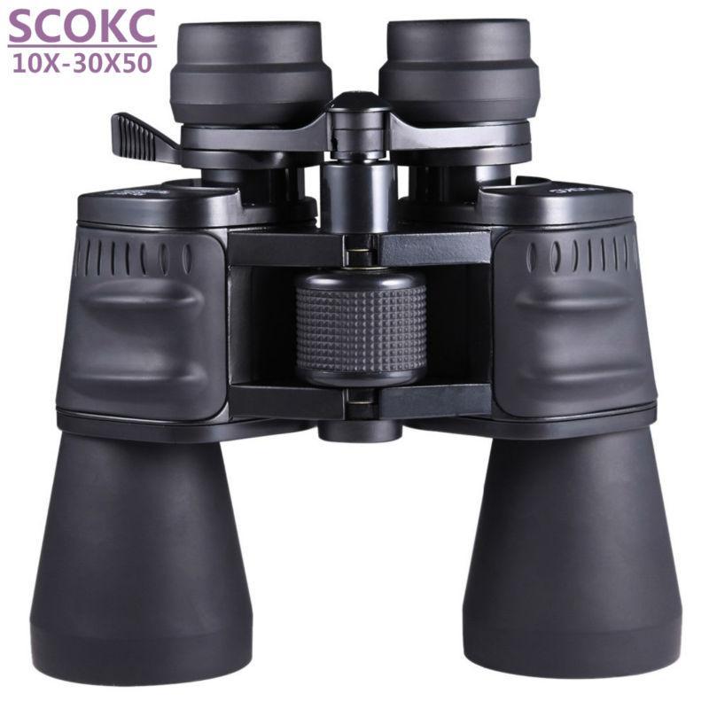 SCOKC10-30X50 güç zoom cam Dürbün avcılık yüksek kaliteli monoküler teleskop dürbün için profesyonel teleskop