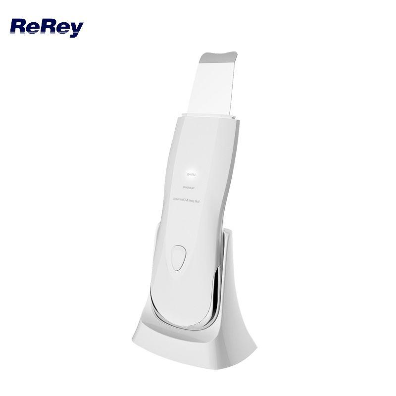 Purificador de pele ultra-sônica à prova d 'água rosto poros Cleaner Facial Clean Blackhead Removal Acne massagem massagem esfoliante dispositivo de beleza