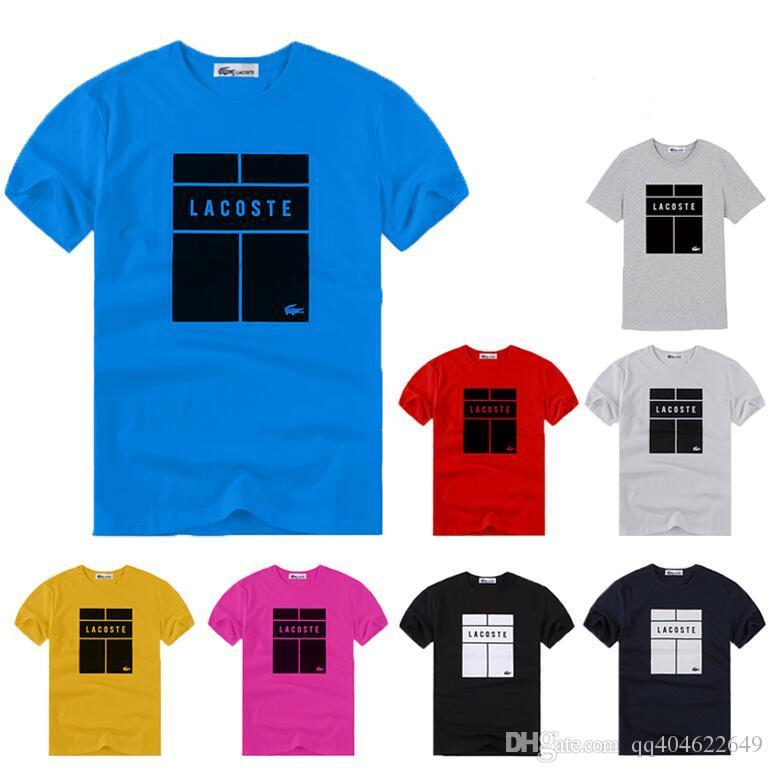 Algodón de calidad superior animal divertido hombres camiseta casual manga corta de impresión para hombre T-shirt Moda O cuello fresco T shirt para hombres