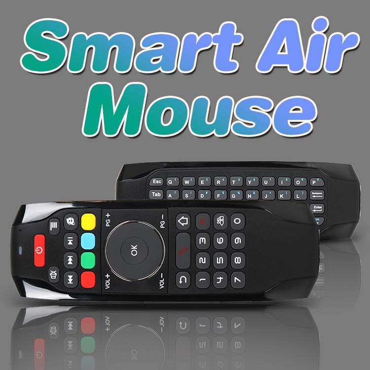 G7 Fly Air Mouse Mini Wireless Keyboard Touchpad Game Gaming Remote Control Handheld with IR Learning Function For TV Box S905W MXQ