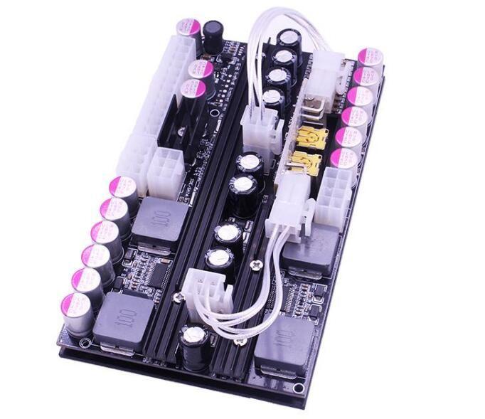 PICO BOX X7-ATX-500 PC computer 500W ad alta potenza DC 24pin ATX mini alimentatore PSU doppio ingresso 16 ~ 24V tensione gamma ampia