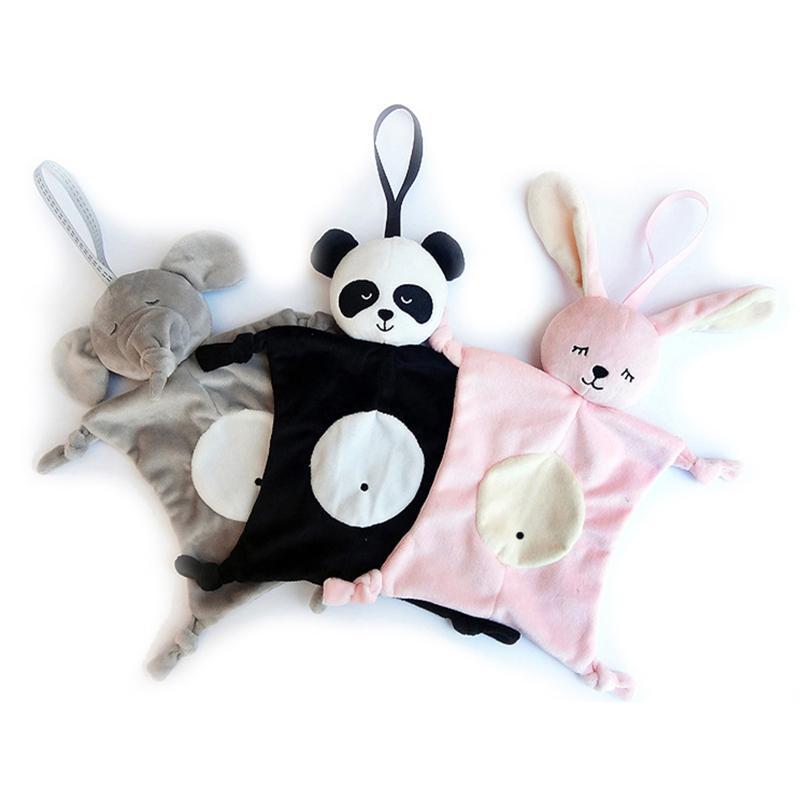 Baby-Plüsch-beruhigendes Spielzeug-Sicherheits-Decke Baby-Spielzeug-beruhigendes Tuch