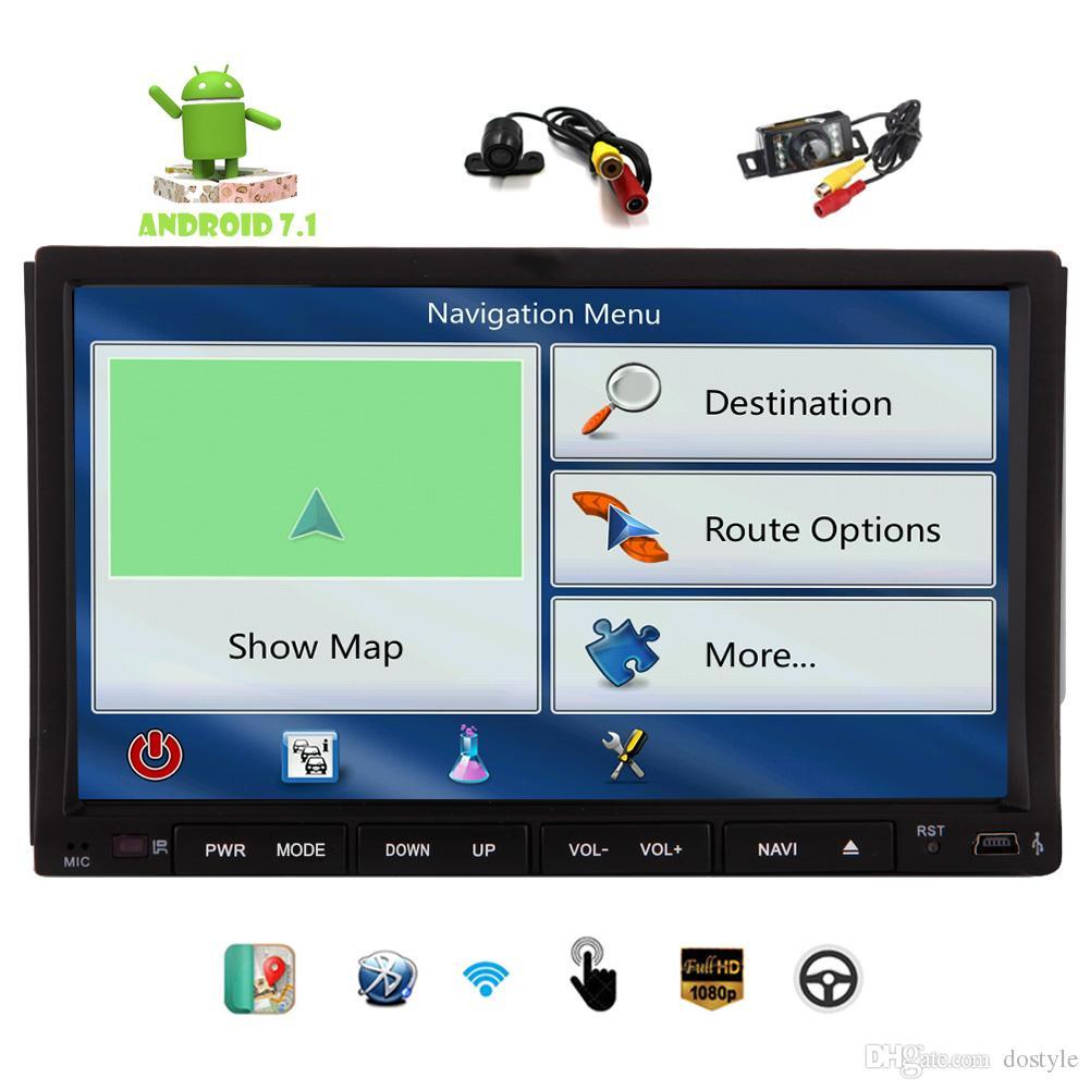"Eincar 7"" 2Din Android Car navigation Stereo Octa-core 2G RAM+32G ROM Car DVD CD Video Player AM/FM/DAB Radio WIFI SWC HeadUnit"