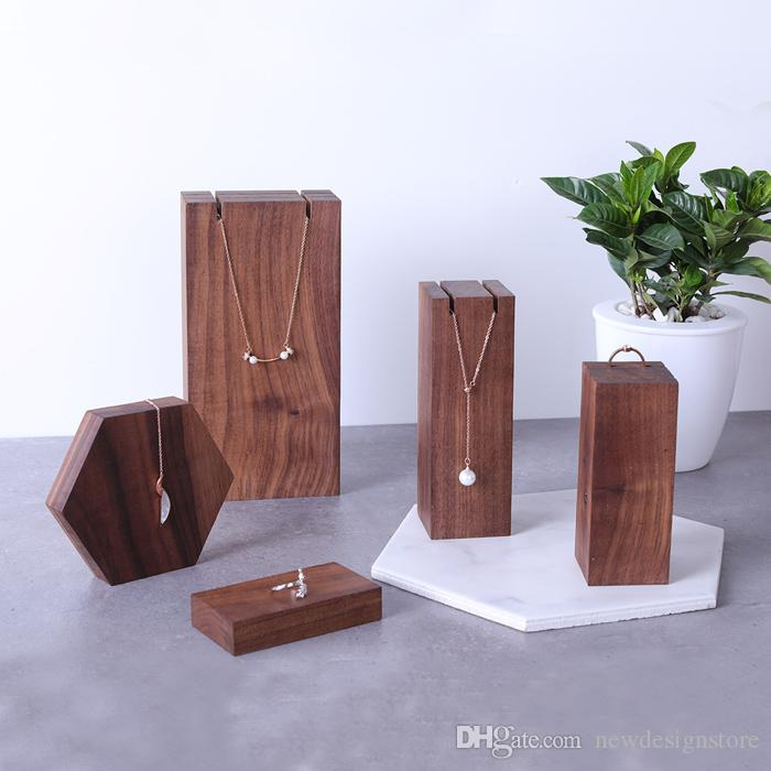 2020 Necklace Display Wooden Stands New Design For Store Jewelry Display Stand Hot Sale In Mark From Newdesignstore 20 06 Dhgate Com