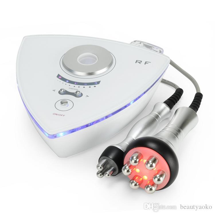 2 في 1 الجسم التخسيس الوجه رفع آلة RF مع الأقطاب وثلاثي الأقطاب لتخفيف الوزن الجلد تردد الراديو للاستخدام المنزلي