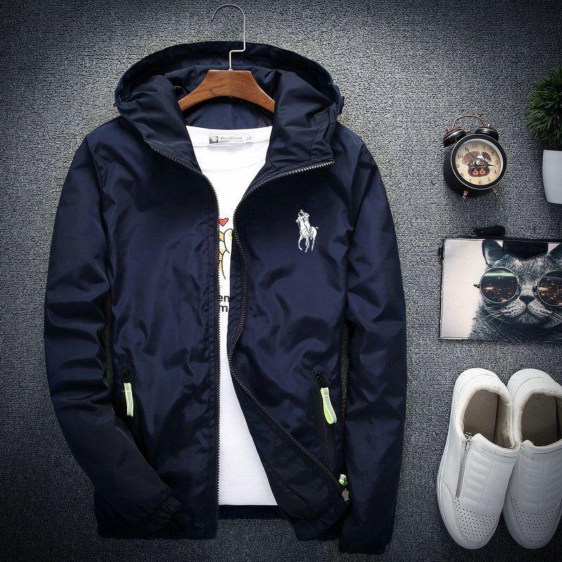 남성 봄 가을 윈드 러너 자켓 얇은 자켓 CoatRelease SU X T N F 스키 - 착용 얼굴 재킷 17AW 의류 후드 3XL 4XL 5XL