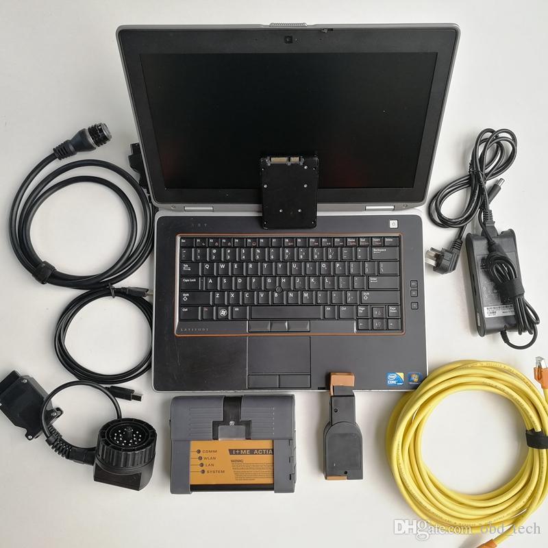 자동차 진단 및 progarmming 도구 BMW 아이콤 A2 + B + C 7백20기가바이트 SSD 노트북 컴퓨터 E6420 진단 V06 / 2020 소프트웨어 전문가 모드
