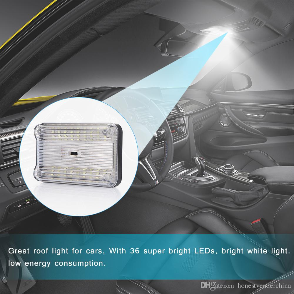36 Smd Auto Car Dome Led Light Ceiling Interior Rectangular White Ceiling Lamp For 12v Cars Led Light Auto Led Light Automotive From Honestvenderchina 10 06 Dhgate Com