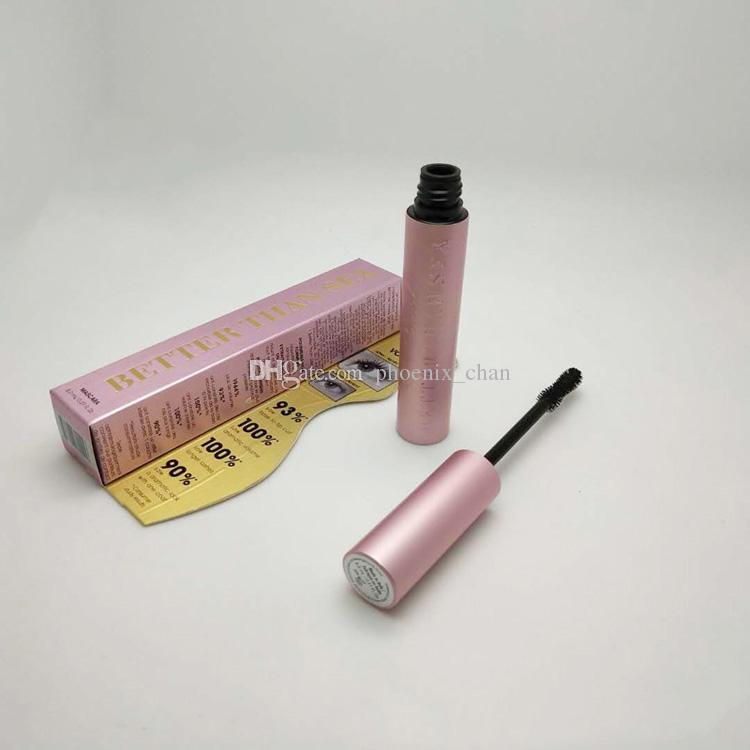 Mascara Better Than Sex Mascara Rose gold and Better than Love Mascara Cool BlackMascara Pink Package DHL free shipping