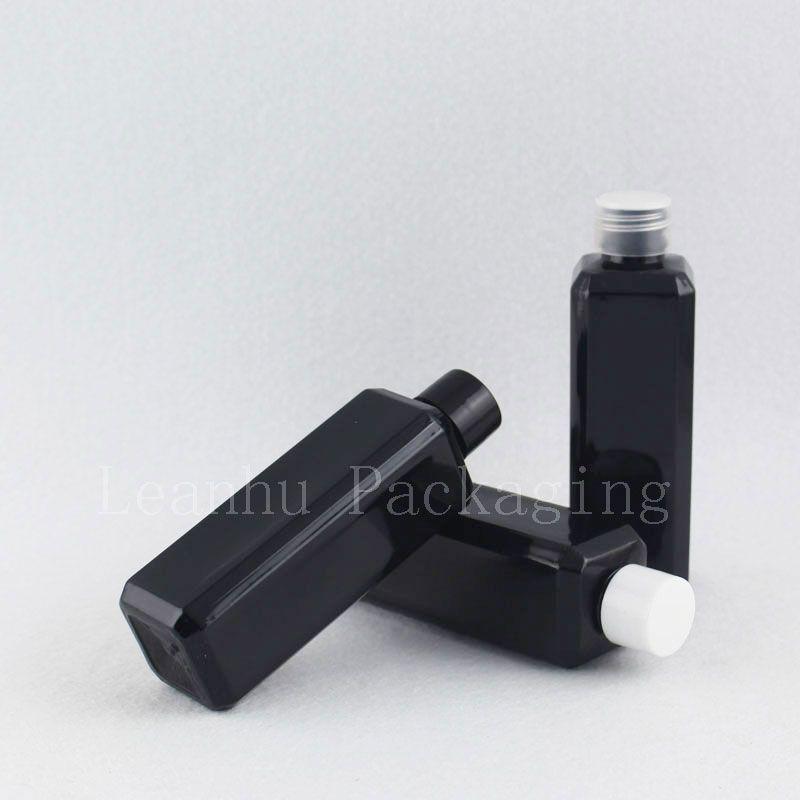 100ml black square bottle with screw cap (2)