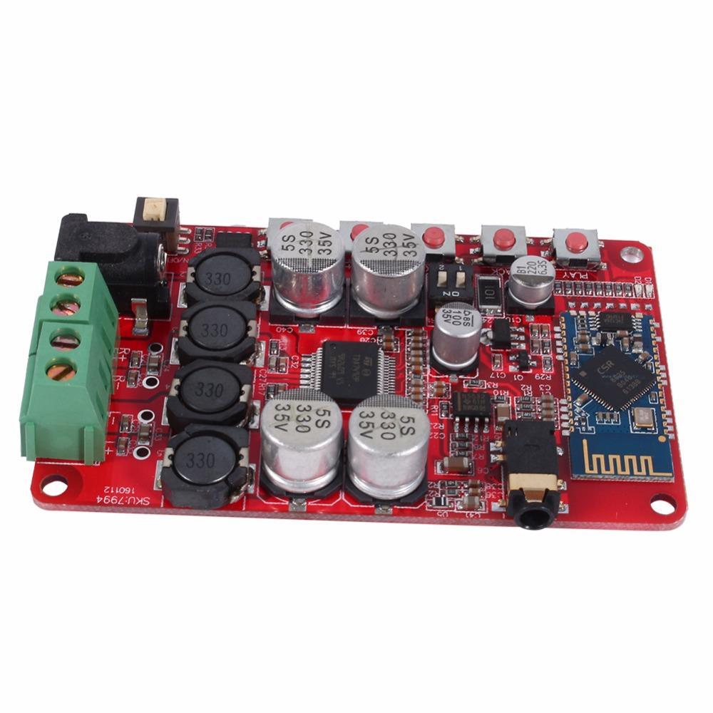 Freeshipping TDA7492P Беспроводной Bluetooth 4.0 аудио усилитель мощности приемник модуль платы
