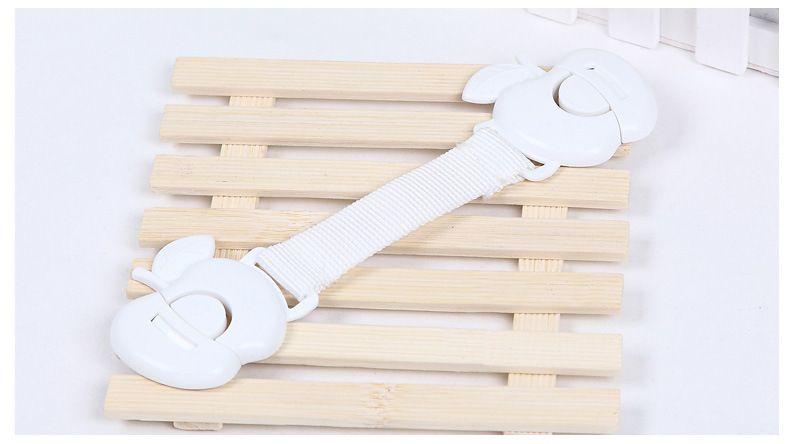 Gabinete Cerradura de seguridad para bebés Cerraduras de seguridad Cajón Gabinete de puerta Armario Armario Cerraduras de seguridad para bebés Cuidado de seguridad para niños Cerraduras de plástico