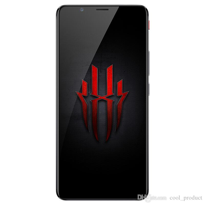 """Original ZTE Nubia Red Magic 4G LTE Cell Phone 6GB RAM 64GB ROM Snapdragon 835 Octa Core Android 6.0"""" Full Screen 24.0MP Smart Mobile Phone"""